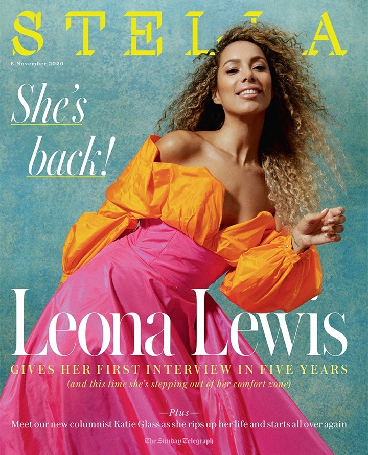 "Leona Lewis Stella 2020 1 - Фото: Леона Льюис на обложке журнала ""Stella"""