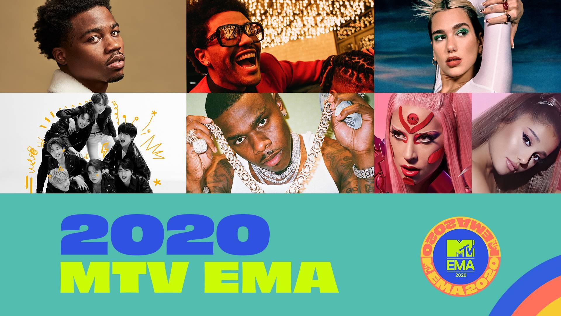 mtv ema 2020 noms - MTV EMA 2020: ПОБЕДИТЕЛИ