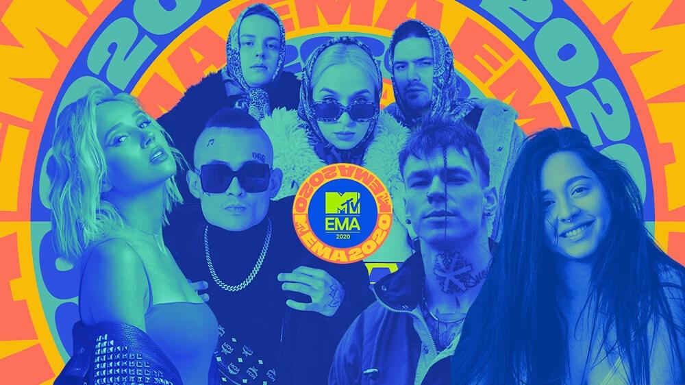 mtv ema 2020 rus - MTV EMA 2020: ПОБЕДИТЕЛИ