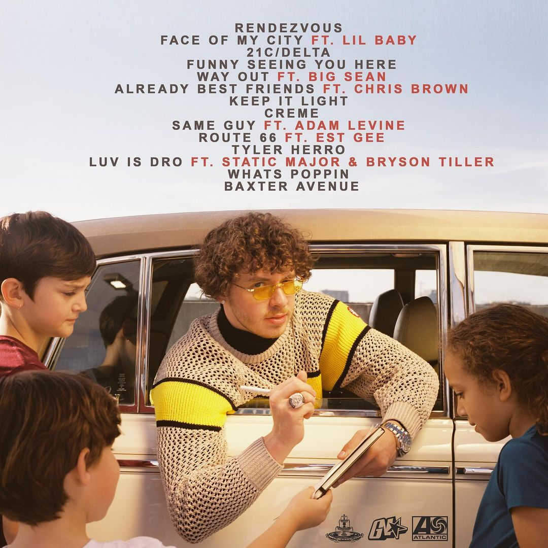 Jack Harlow Thats What They All Say Album Back Cover - Jack Harlow - Thats What They All Say (Album)