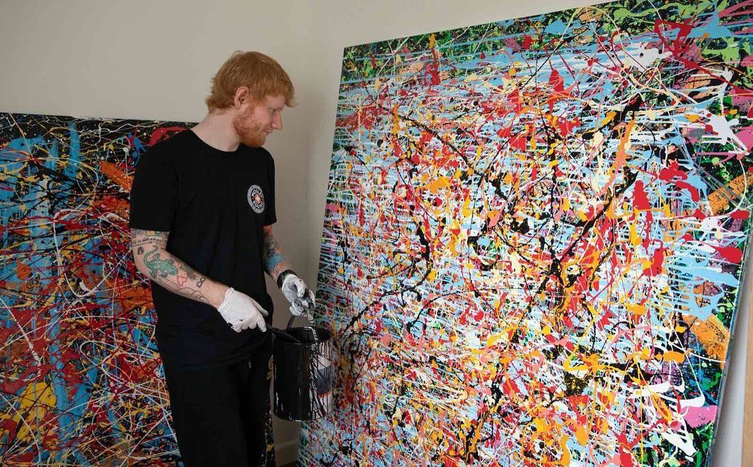 ed sheeran painting e1608564849284 - Ed Sheeran - Afterglow