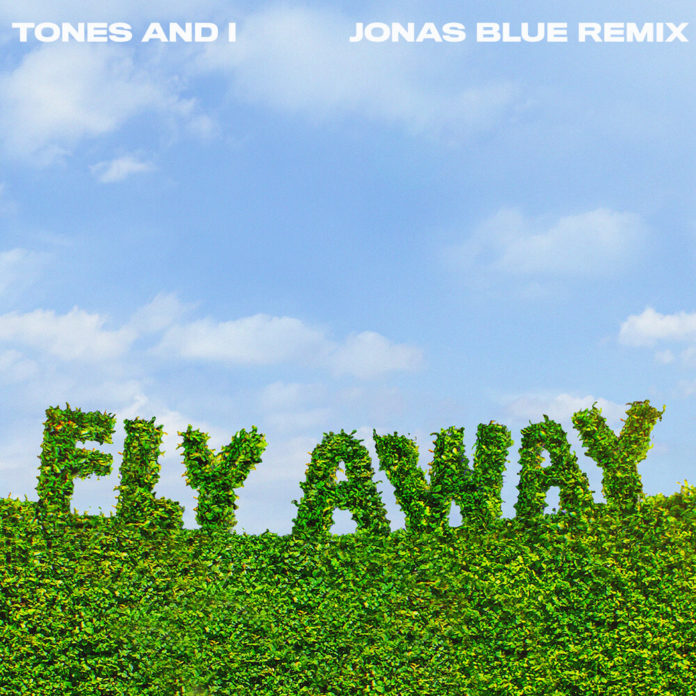 Tones And I Fly Away Jonas Blue Remix 696x696 - Tones And I - Fly Away (Jonas Blue Remix)