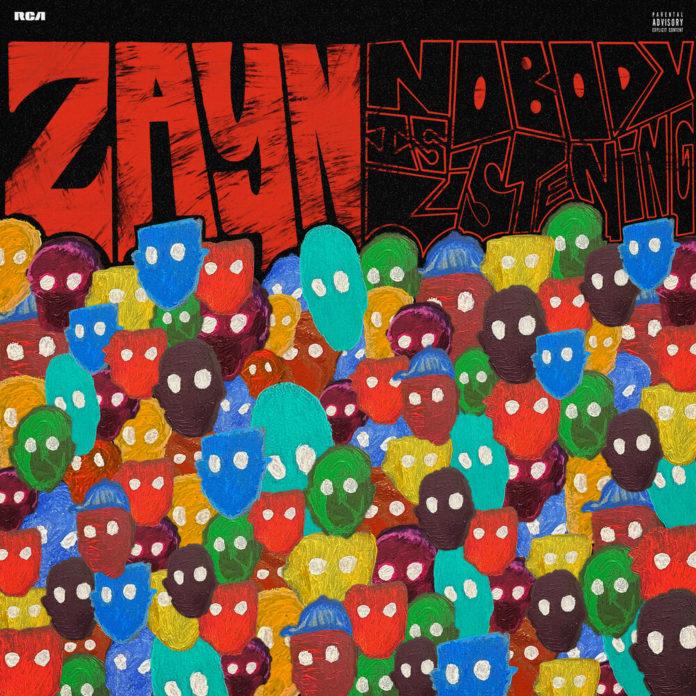 ZAYN Nobody Is Listening Album 696x696 - ZAYN - Nobody Is Listening (Album)