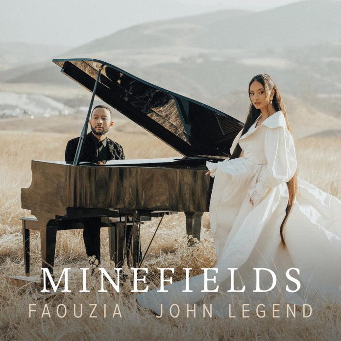 Faouzia John Legend Minefields 696x696 - Faouzia & John Legend - Minefields