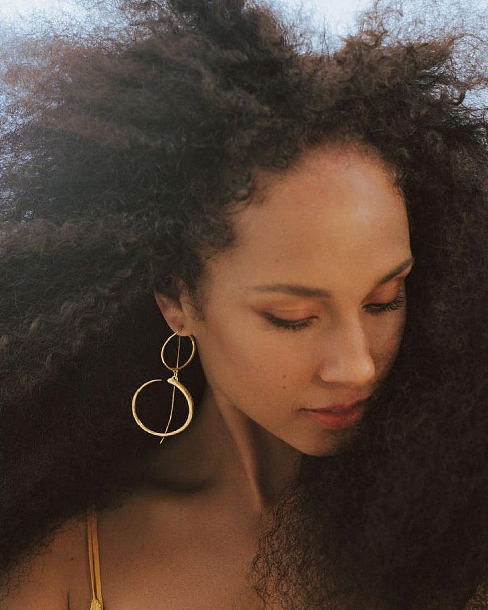 Alicia Keys Allure 2021 2 - Фото: Алиша Киз на обложке Allure