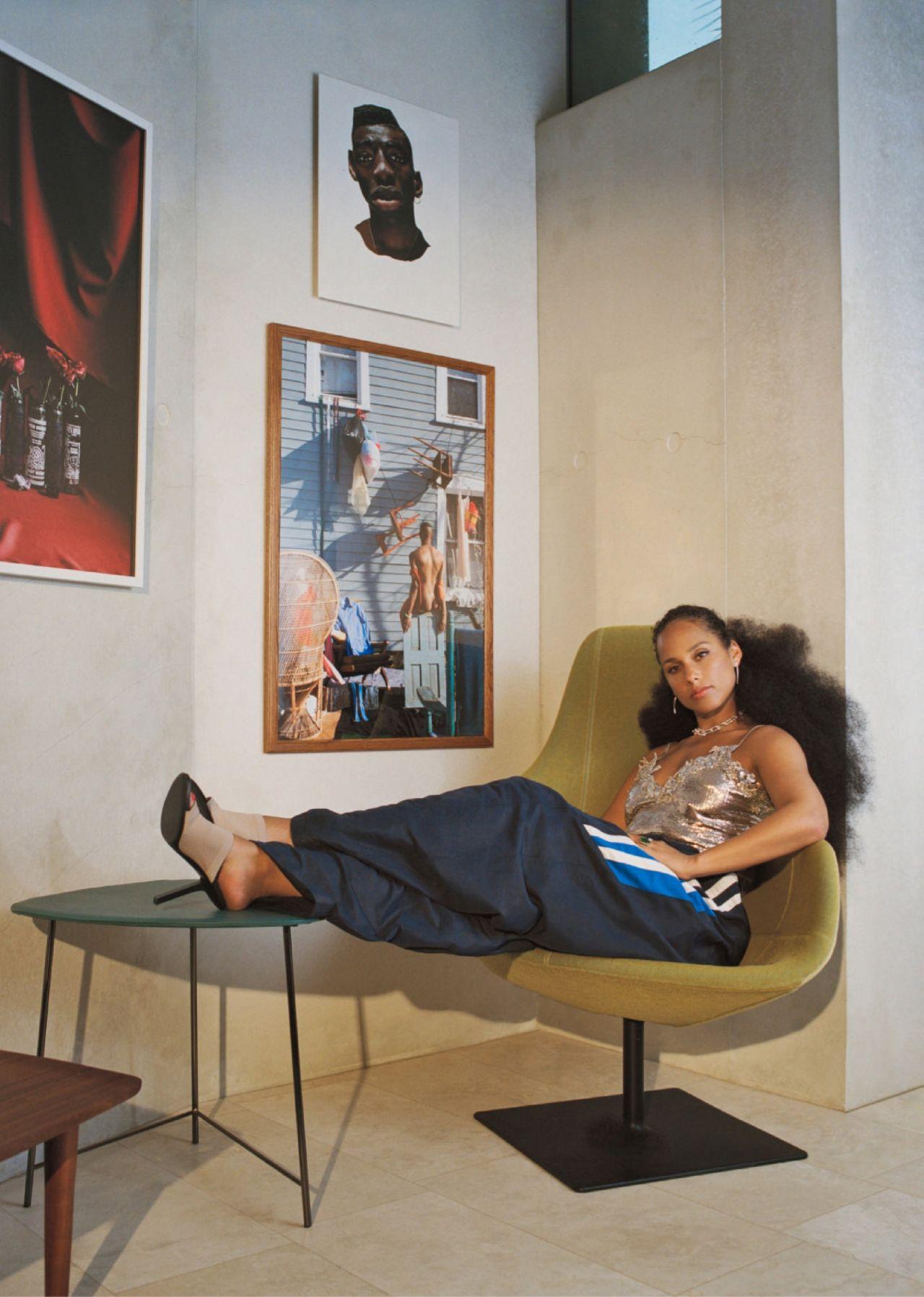 Alicia Keys Allure 2021 3 - Фото: Алиша Киз на обложке Allure