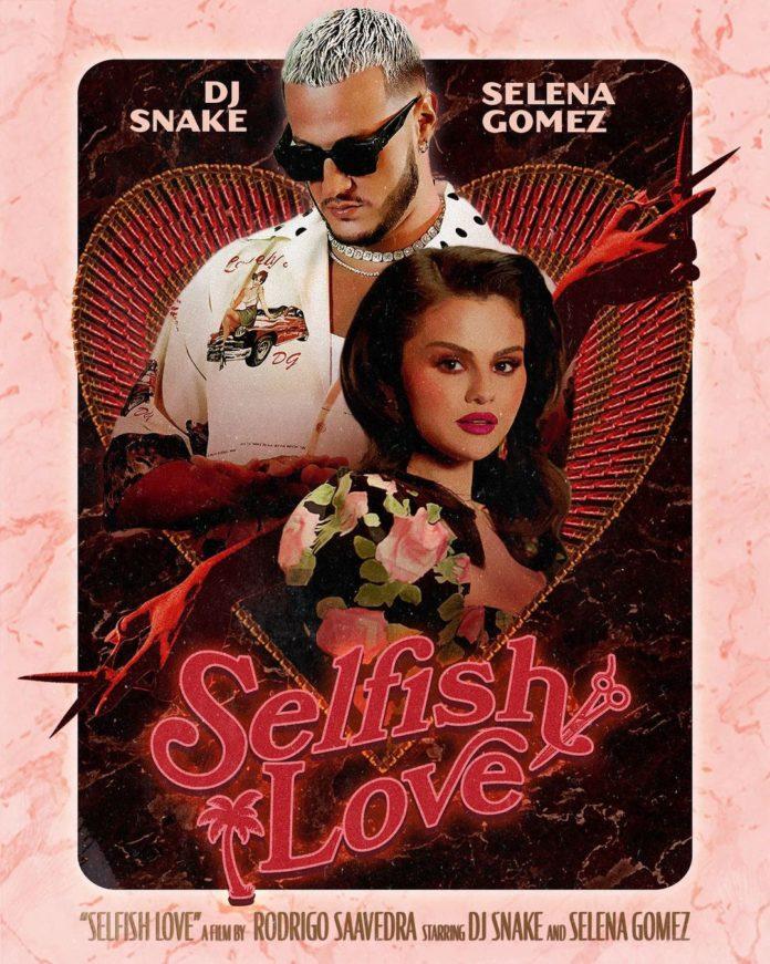 DJ Snake Selena Gomez Selfish Love Music Video Art 696x871 - Клип: DJ Snake & Selena Gomez - Selfish Love