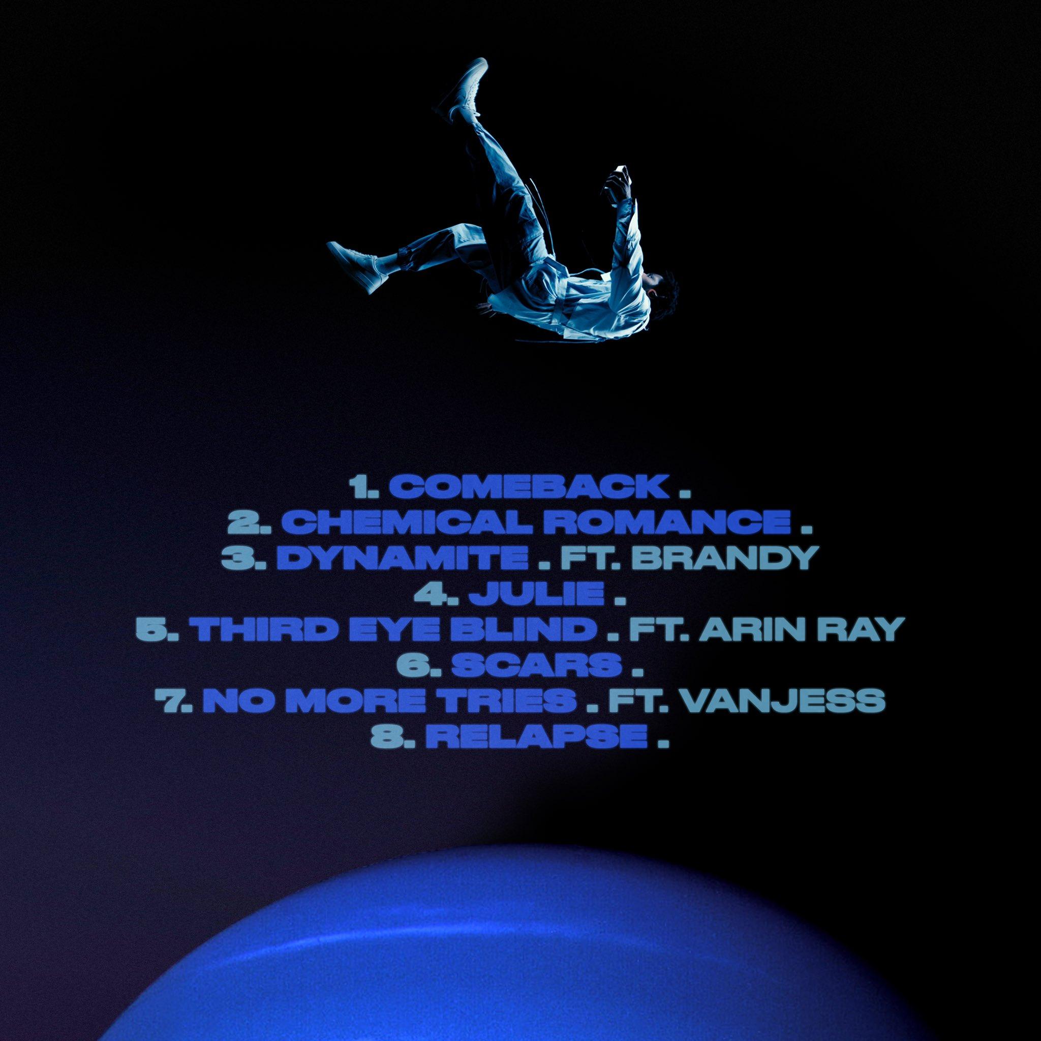 Gallant Neptune EP Backcover - Gallant - Neptune (EP)