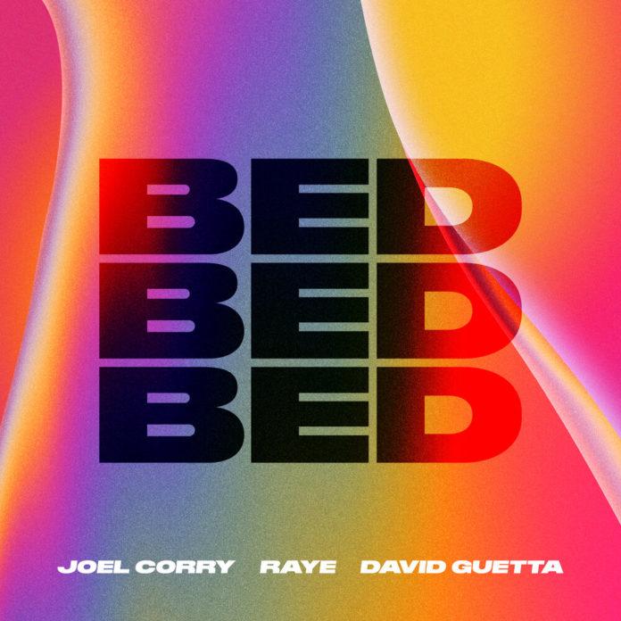 Joel Corry RAYE David Guetta BED 696x696 - Joel Corry, RAYE, David Guetta - BED