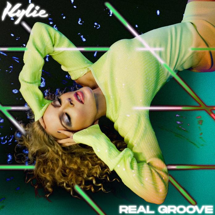 Kylie Minogue x Dua Lipa Real Groove 696x696 - Kylie Minogue x Dua Lipa - Real Groove (Studio 2054 Initial Talk Remix)
