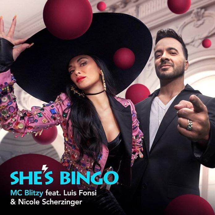 Luis Fonsi Nicole Scherzinger Shes BINGO 696x696 - Luis Fonsi & Nicole Scherzinger - She's BINGO