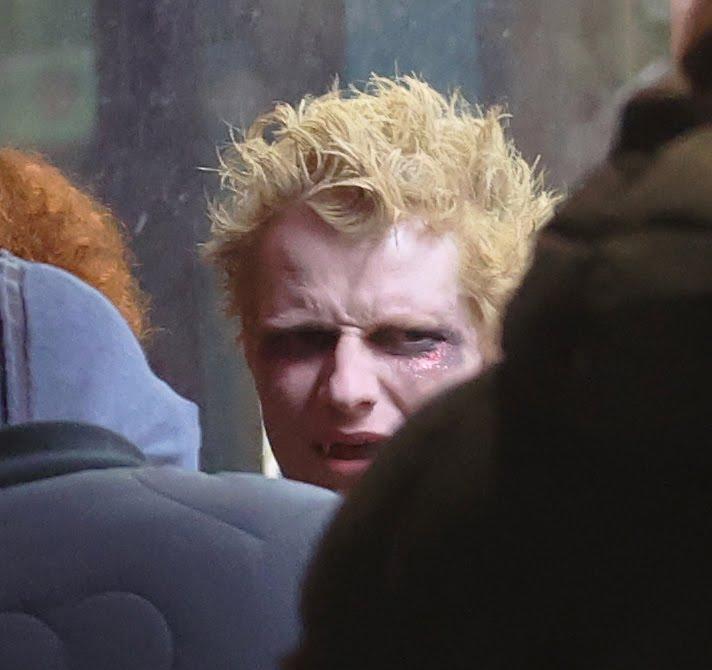 Ed Sheeran New Music Video 2021 3 - Фото: Эд Ширан в образе вампира на съемках нового клипа