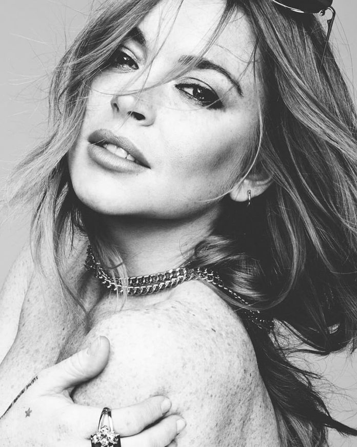 lindsay lohan 696x870 - Lindsay Lohan - Xanax (Arca Edit)