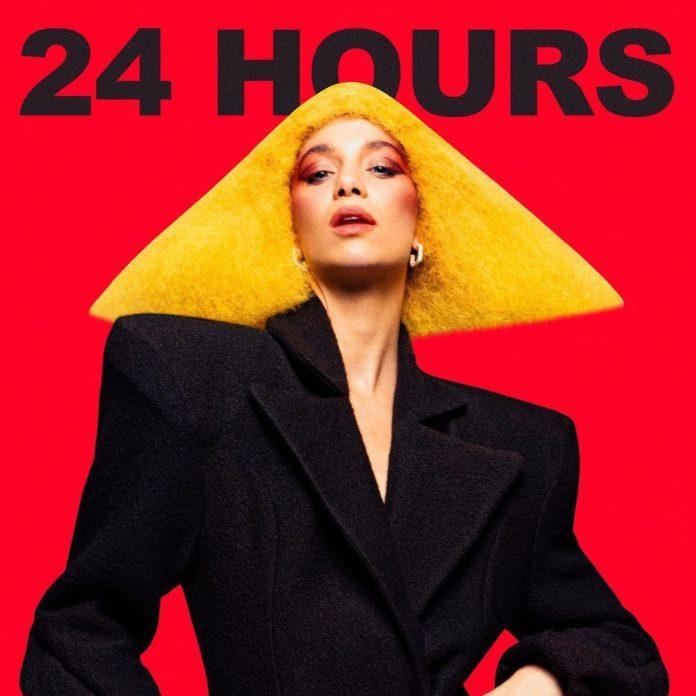 Agnes 24 Hours  696x696 - Обложка сингла:  Agnes - 24 Hours
