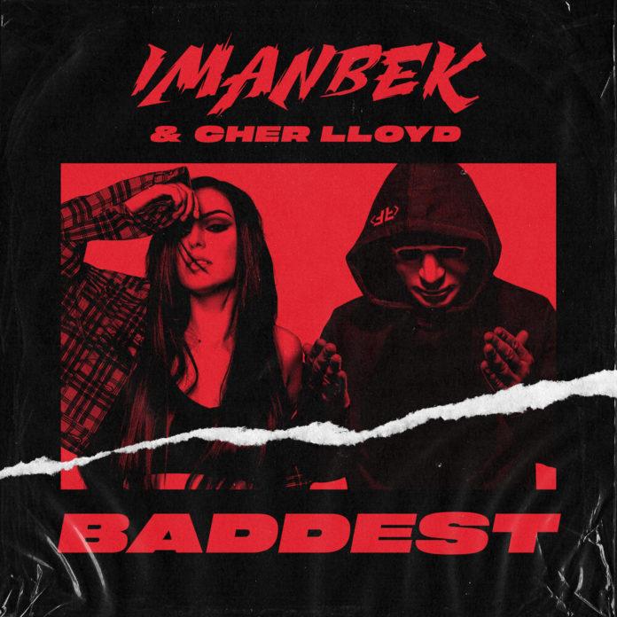 Imanbek Cher Lloyd Baddest 696x696 - Imanbek & Cher Lloyd - Baddest