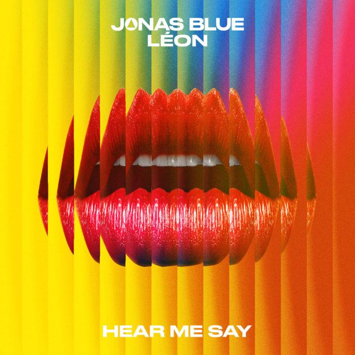 Jonas Blue Hear Me Say feat. LEON 696x696 - Jonas Blue - Hear Me Say (feat. LÉON)
