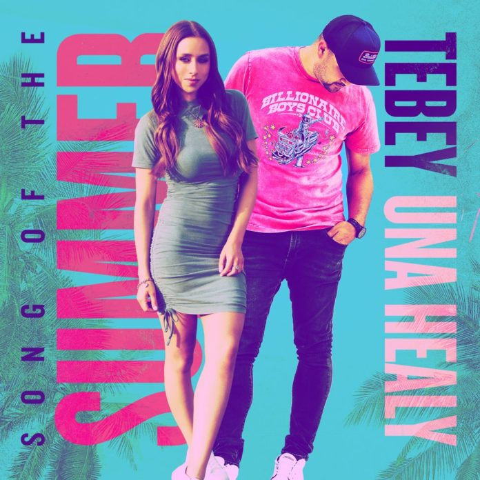 Tebey Song of the Summer feat. Una Healy 696x696 - Tebey - Song of the Summer (feat. Una Healy)