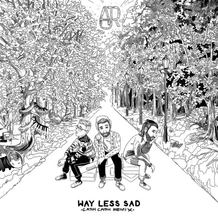 AJR Way Less Sad Cash Cash Remix 696x696 - AJR - Way Less Sad (Cash Cash Remix)