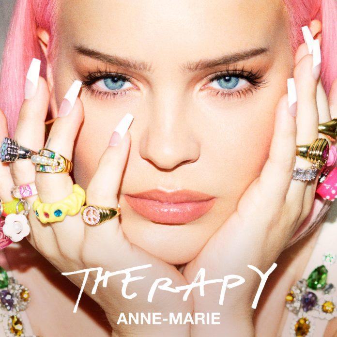 "Anne Marie Therapy Cover 696x696 - Anne-Marie поделилась треклистом нового альбома ""Therapy"""