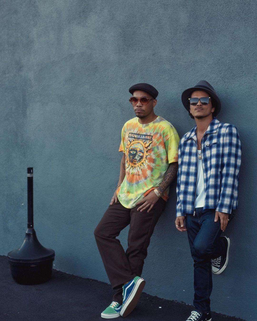 Bruno Mars Anderson .Paak Silk Sonic 2021 pr - Bruno Mars & Anderson .Paak (Silk Sonic) — Skate