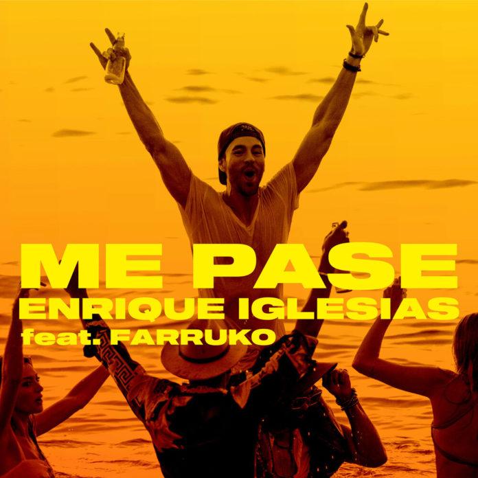 Enrique Iglesias ME PASE feat. Farruko 696x696 - Enrique Iglesias - ME PASE (feat. Farruko)