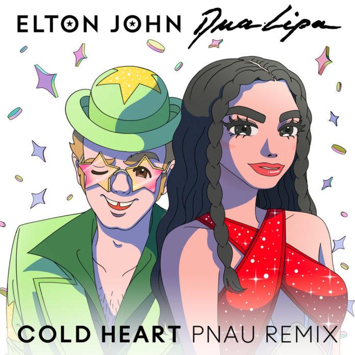 Elton John Dua Lipa Cold Heart PNAU Remix 696x696 - Elton John, Dua Lipa - Cold Heart (PNAU Remix)