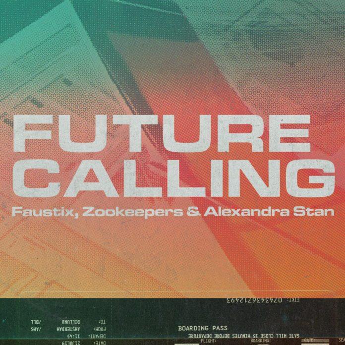 Future Calling Faustix Zookeepers Alexandra Stan 696x696 - Faustix, Zookeepers, Alexandra Stan - Future Calling