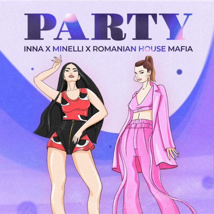 INNA Minelli Party 696x696 - INNA & Minelli - Party