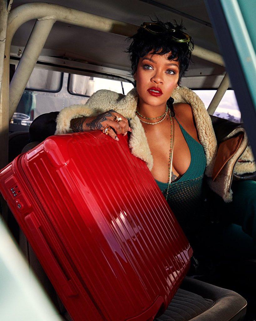 Rihanna Rimowa 2021 1 - Фото: Рианна для Rimowa