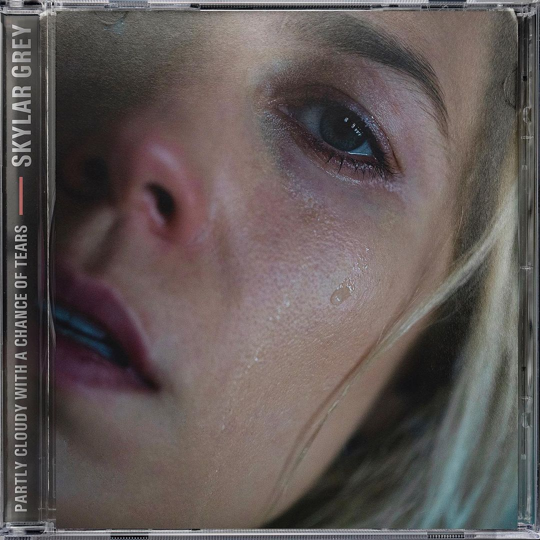 Skylar Grey Partly Cloudy With a Chance of Tears Album Cover 1 - Skylar Grey - Partly Cloudy With a Chance of Tears