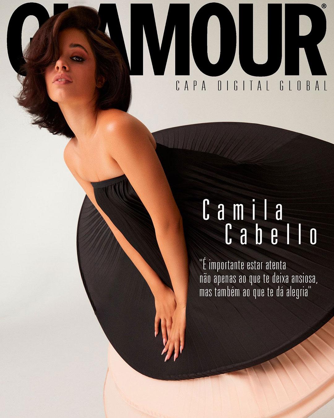 Camila Cabello Glamour 2021 9 min - Фото: Camila Cabello на обложке журнала Glamour