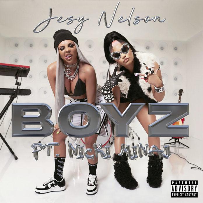 Jesy Nelson Boyz feat. Nicki Minaj 696x696 - Jesy Nelson - Boyz (feat. Nicki Minaj)